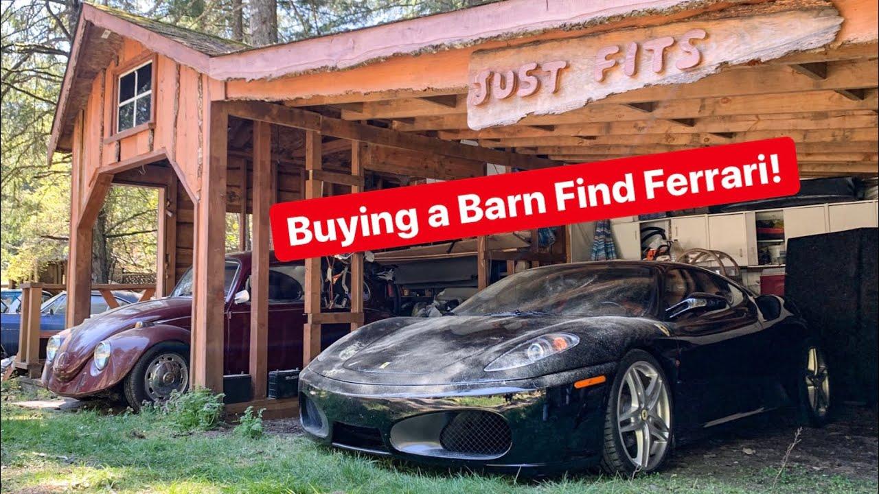 BUYING A DIRTY BARN FIND FERRARI F430! *SO CHEAP!*