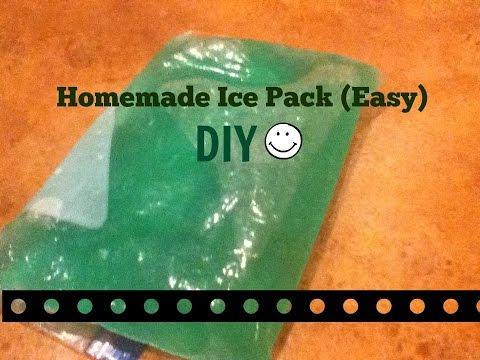 Homemade Ice Pack DIY (SUPER EASY!)