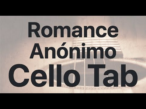 Learn Romance Anónimo on Cello - How to Play Tutorial