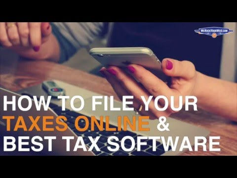 How to File Your Taxes Online (Best Tax Filing Apps)