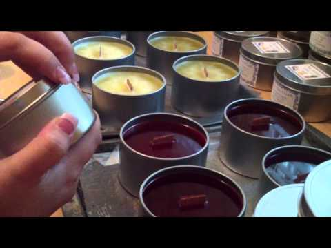 New Wooden Wick Soy Candles!