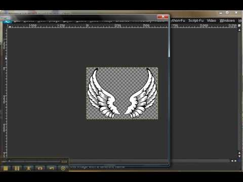 *BEGINNER* How to save transparent PNG files in GIMP