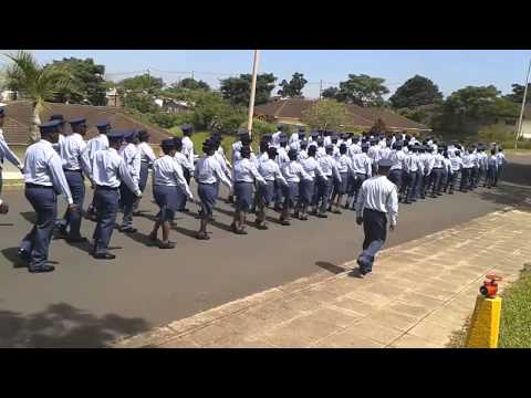 SAPS Pass-Out Parade Chatsworth Academy 1_07 March 2014