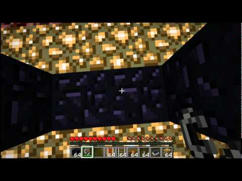 Minecraft Tutorial - How to Link Nether Portals