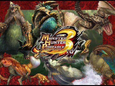 Monster Hunter Portable 3rd HD Textures
