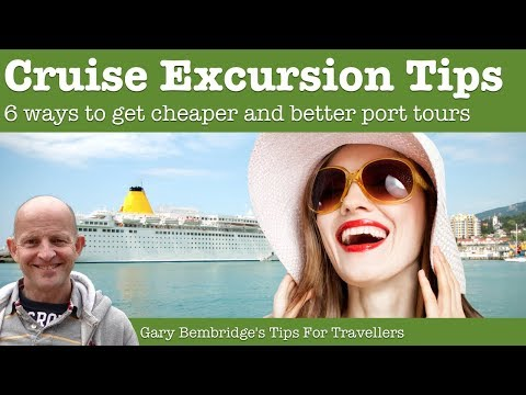 6 Cruise Shore Excursions Tips -  Getting Cheaper And Better Tours
