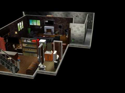 Sims 3 - housebuild 1 - basement