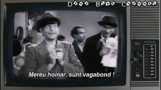 Raj Kapoor - Vagabondul (SUBTITRAT ROMÂNĂ)