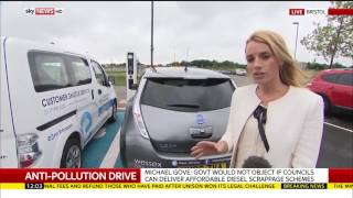 New petrol and diesel cars banned from 2040 - Rebecca Williams