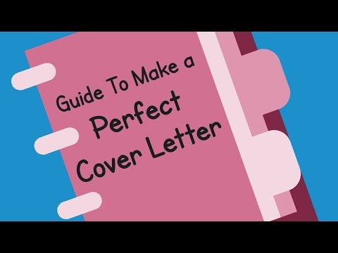 5 Steps to make a Perfect Resume | How to make a cover letter