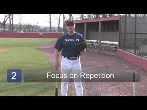 Little League Baseball Exercises