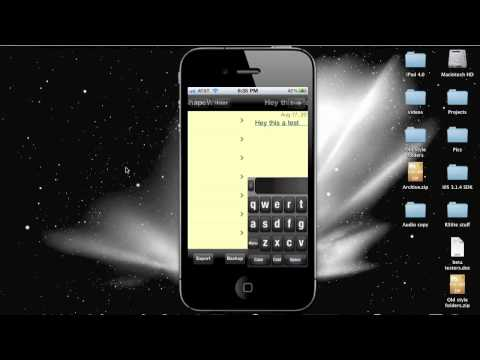 How to get Swype Keyboard on iPhone- Shapewriter