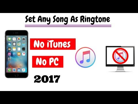 Set ringtone in iphone without itunes or computer | Make any song as ringtone on iphone