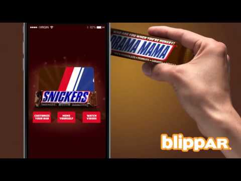 Who are you when you are hungry? Eat & Blipp a Snickers.
