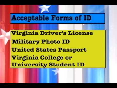 Virginia Voter Photo ID Requirements
