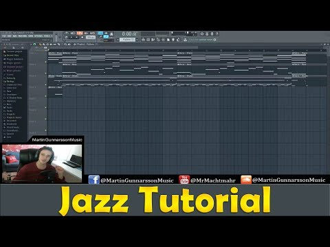 How to: Create a Jazz track in FL Studio | Tutorial for beginners