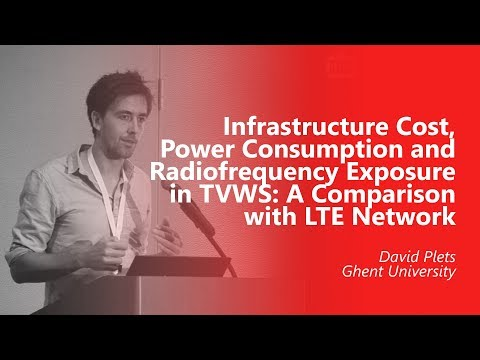 Infrastructure Cost, Power Consumption and Radiofrequency Exposure in TVWS. David Plets