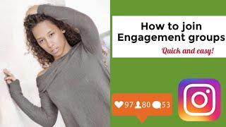 Instagram Engagement Group How To | Instagram Influencer Hacks | June 2018