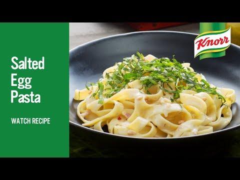 Pasta with Salted Egg Cream   UFS Philippines