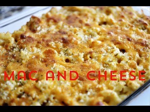 Macaroni pie - baked mac and cheese
