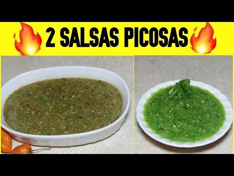 SALSAS TAQUERAS PICOSAS