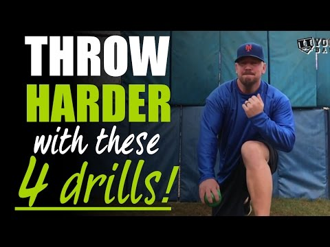 My 4 Favorite Baseball Throwing Drills to Throw Harder!