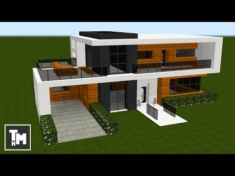 Minecraft: How To Build a Small Modern House Tutorial (Easy) (Episode 1) 2018