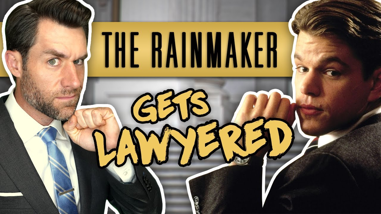 Real Lawyer Reacts to The Rainmaker (Francis Ford Coppola's Legal Masterpiece)