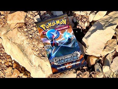 OUVER-NA-TURE #13 : Ouverture d'un Booster Pokémon XY Offensive Vapeur | UNE VUE MONTAGNESQUE !