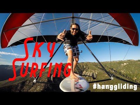 SKY SURFING  / #HANGGLIDING