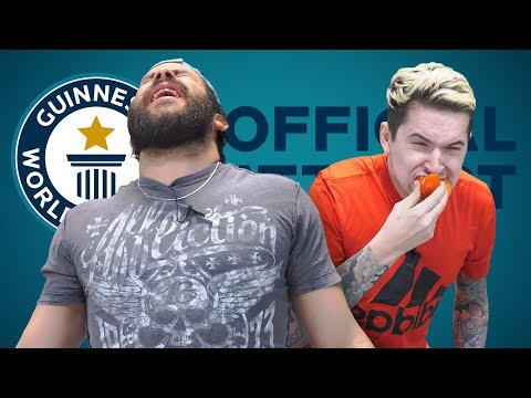 FASTEST RAW ONION EATING • GUINNESS WORLD RECORDS