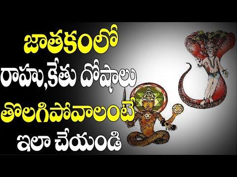 Rahu Ketu dosha nivarana in Telugu|How to solve Rahuvu Ketuvu dosham problem in your life astrology?