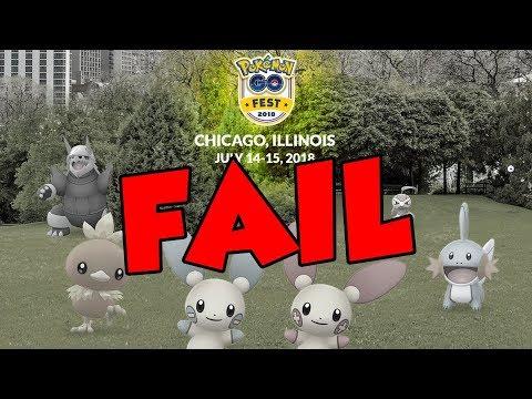 Pokemon GO Fest 2018 ALREADY A FAILURE!