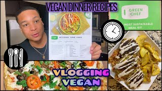 Green Chef VEGAN Meal Recipes🍽 Braxton's Journey to Veganism Review!