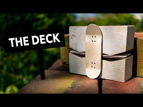 Making the deck: How to make your own fingerboards (Part 2/3)