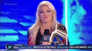 Alexa Bliss Becky Lynch WWETalkingSMack