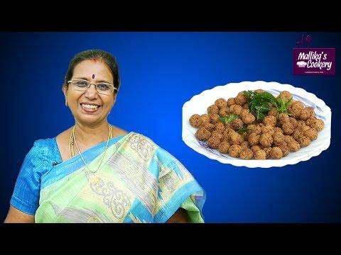 Rava Seedai | Mallika Badrinath | South Indian Evening Snack Recipe