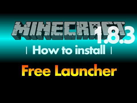How to install Free Launcher (cracked launcher) [SKlauncher] for Minecraft 1.8.3