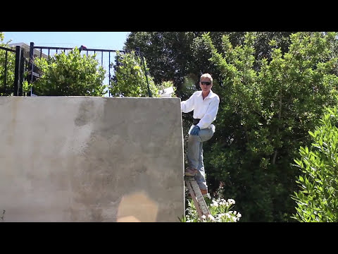 Lateral movement in concrete, cinder blocks or brick retaining walls
