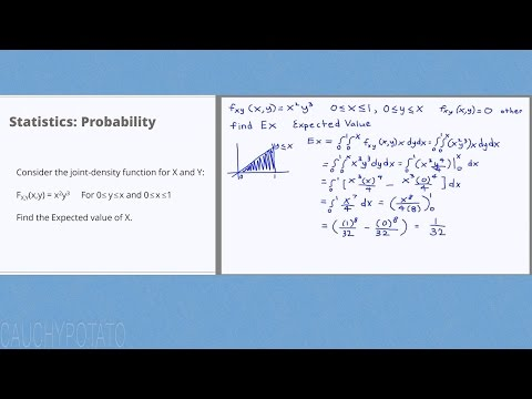 Statistics Probability 11: Joint-Density Expected Value Example