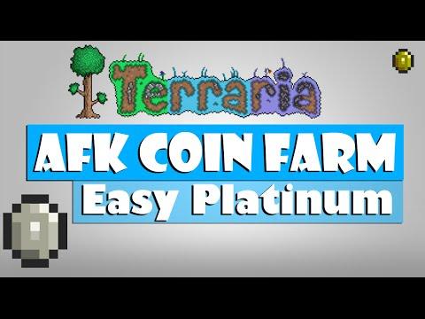 Terraria - AFK Coin/Money Farm