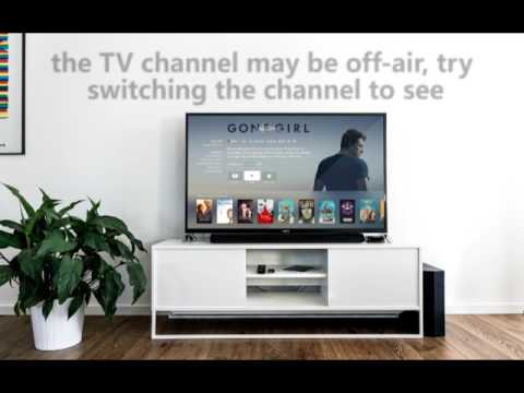 My TV says 'No Signal' - Help from 24|7 Home Rescue