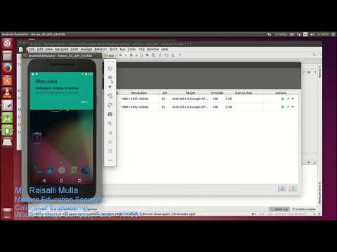 How to Install Android Studio in Ubuntu 14.04 / 16.04 and AVD Emulator