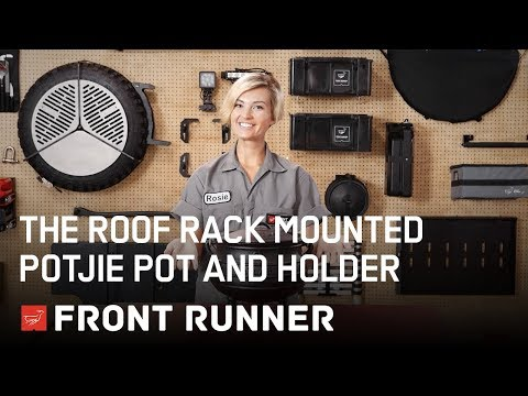 THE ROOF RACK MOUNTED POTJIE POT AND HOLDER - by Front Runner