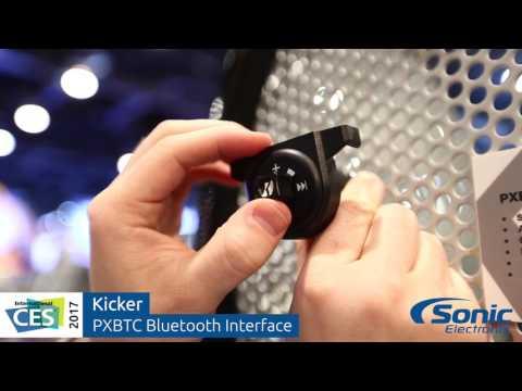 Kicker PXBTC Bluetooth Interface   CES 2017