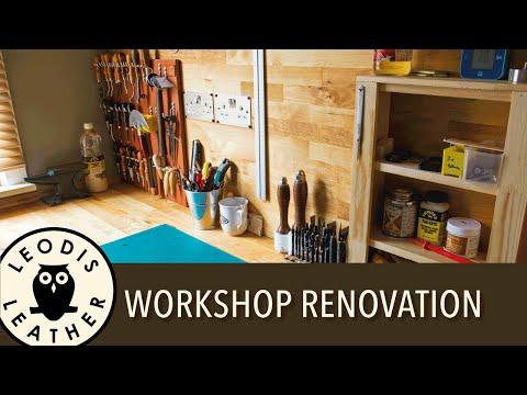 Leodis Leather Workshop Renovation