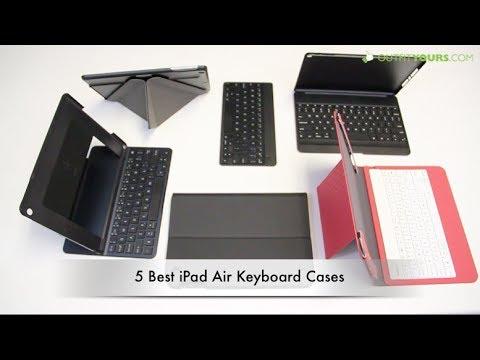 Top 5 Best iPad Air Keyboard Cases - Belkin, Moshi, Logitech, Zagg...