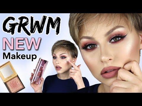 Chatty GRWM Trying NEW Makeup 2018 | Alexandra Anele