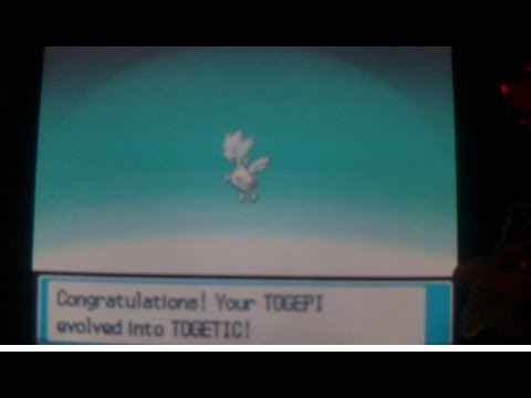 How to Evolve Togepi into Togetic - All Pokemon Games