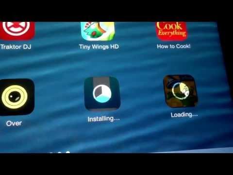 iOS 7 New Installing Animation!